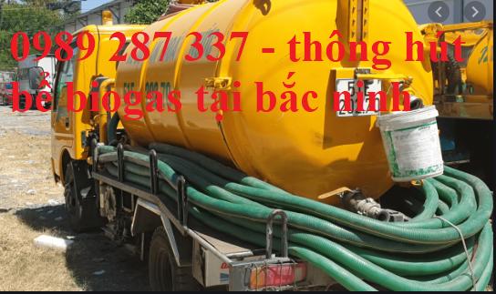 hút bể biogas tại bắc ninh