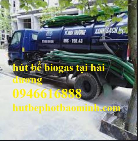 hút bể biogas tại hải dương