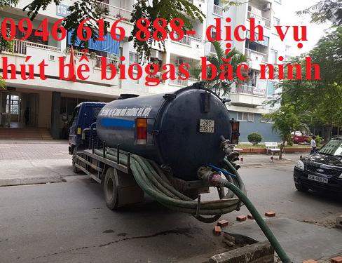 hút bể biogas tại bắc ninh giá rẻ